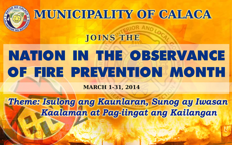 Fire Prevention Month - 2014