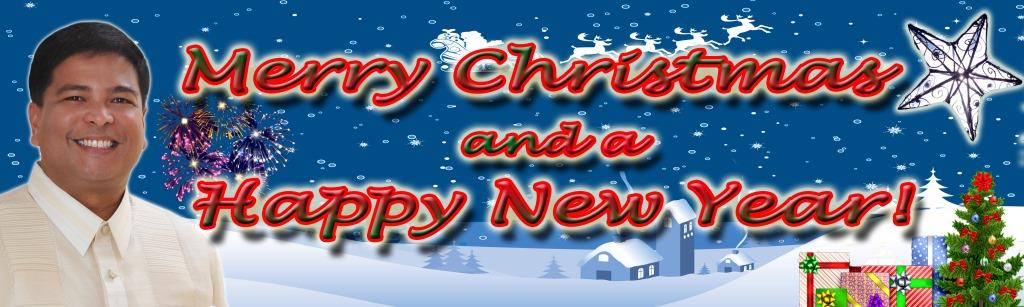 Merry Christmas and a Happy New Year to All!