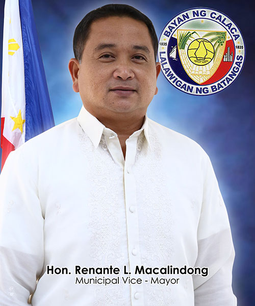 Vice Mayor Renante L. Macalindong
